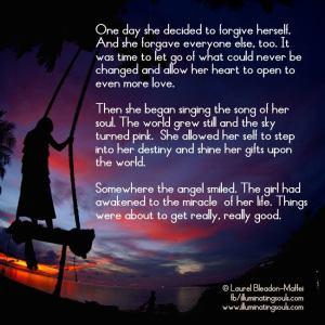 forgive herself