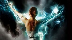 woman-lightning