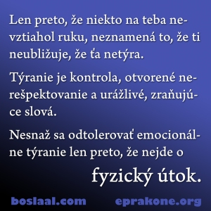 emocionalne tyranie