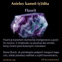 Anielov kameň týždňa: Fluorit