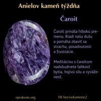 Anielov kameň týždňa: čaroit