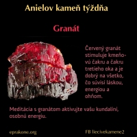 Anielov kameň týždňa: granát