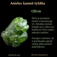 Anielov kameň týždňa: Olivín