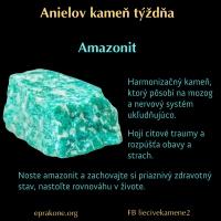 Anielov kameň týždňa: amazonit