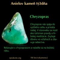 Anielov kameň týždňa: chryzopras
