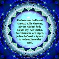 Mandala by Ambala: Hrdý sám na seba