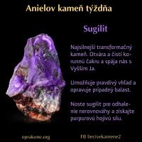 Anielov kameň týždňa: sugilit