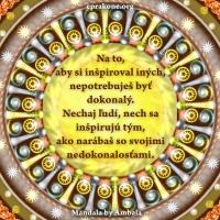 Mandala by Ambala: Nepotrebuješ byť dokonalý