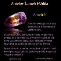 Anielov kameň týždňa: ametrín