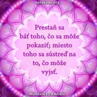 Mandala by Ambala: Zhmotníme to, čomu venujeme pozornosť
