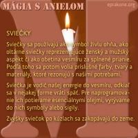 Magický piatok: sviečky