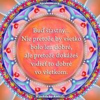 Mandala by Ambala: Buď šťastný...