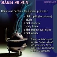 Magický piatok: očistné kadidlo