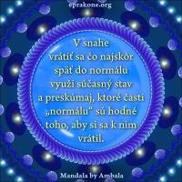 Mandala by Ambala: Využi vynútený čas rozumne