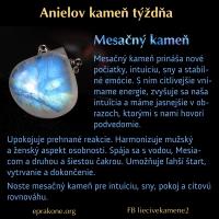 Anielov kameň týždňa: mesačný kameň