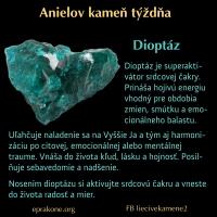 Anielov kameň týždňa: dioptáz