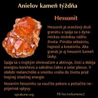 Anielov kameň týždňa: hessonit