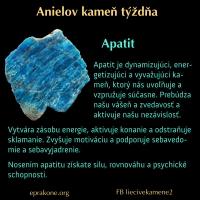 Anielov kameň týždňa: apatit