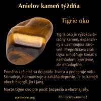 Anielov kameň týždňa: tigrie oko