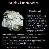 Anielov kameň týždňa: muskovit