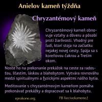 Anielov kameň týždňa: chryzantémový kameň