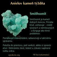 Anielov kameň týždňa: smithsonit